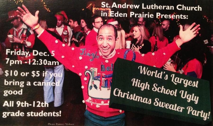 Worlds Largest High School Ugly Christmas Sweater Party