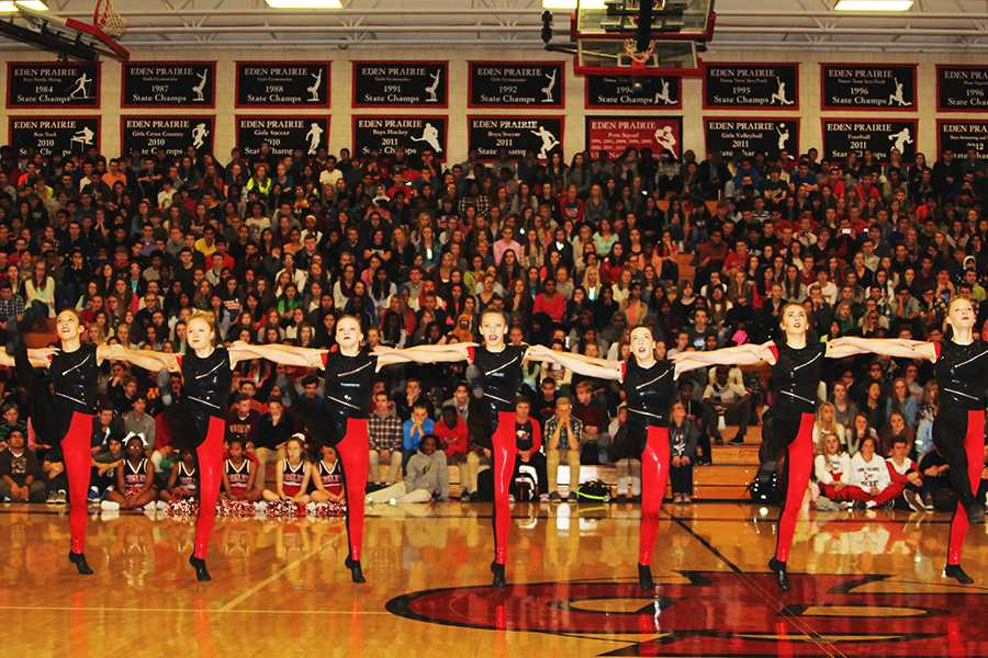 Cheers and Tears: Winter Pep Fest
