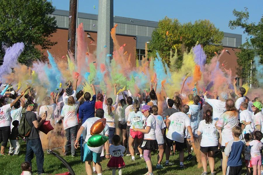 Running the Rainbow