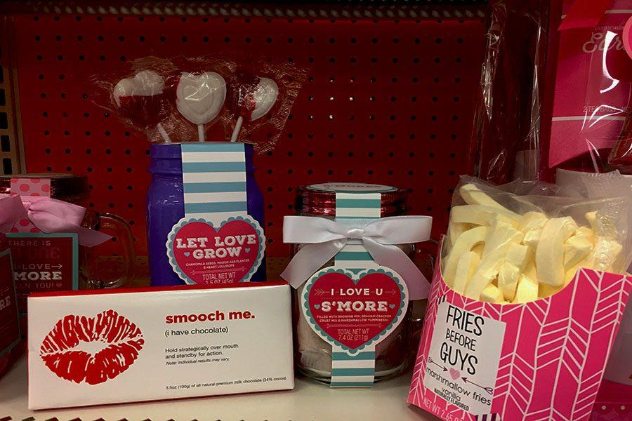 Target's Valentine's Day Aisle