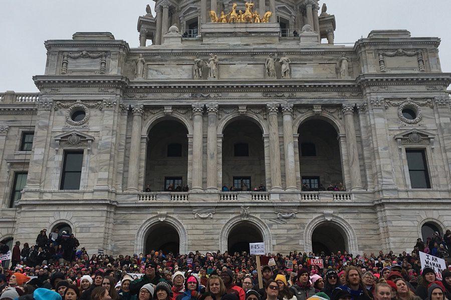 Protesting in Minnesota