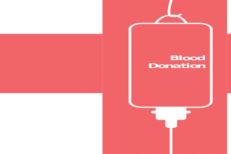 Donate blood to the second blood drive