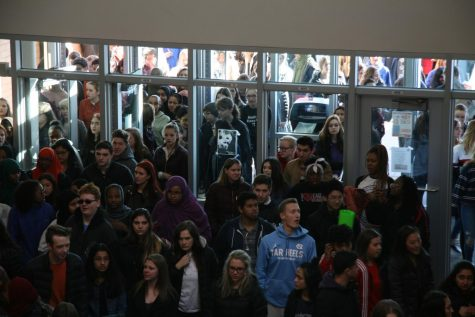 Students return back to school after the 2018 walkout.
