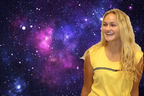 Baylee Brabender is smiling in space.