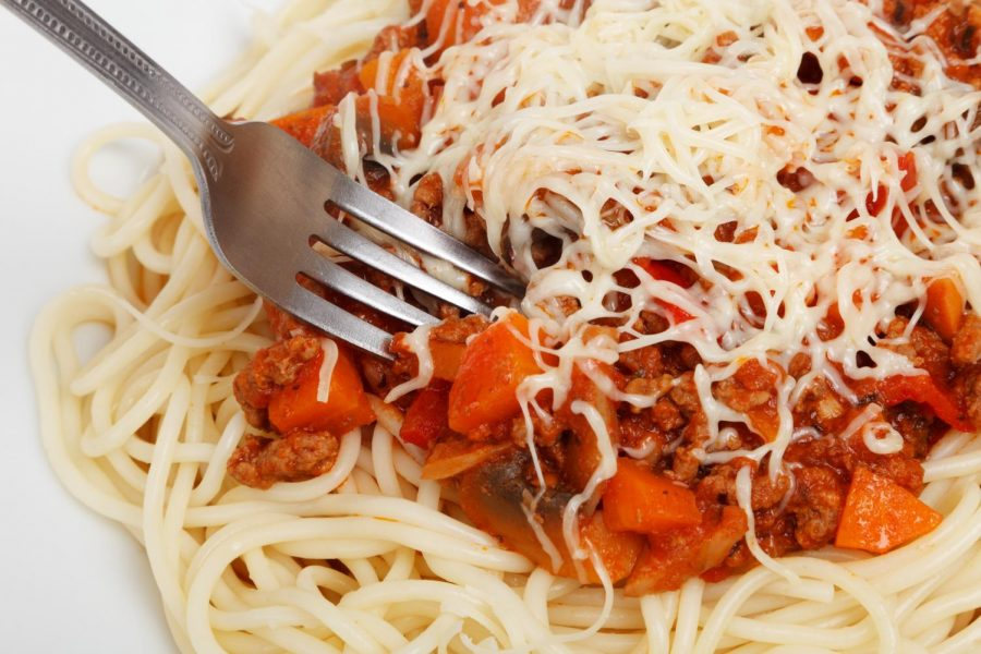 Do you know the singular form spaghetti?