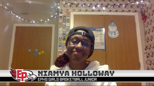 Varsity Basketball Player Niamya Holloway on This Year's Season and Committing to the U of M