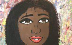 Sarah Mullah's art piece