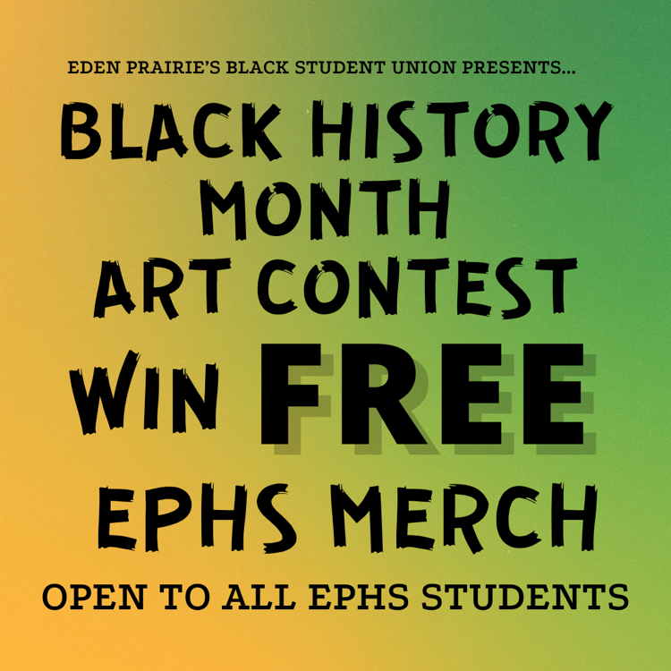 BSU Black History Month Art Contest
